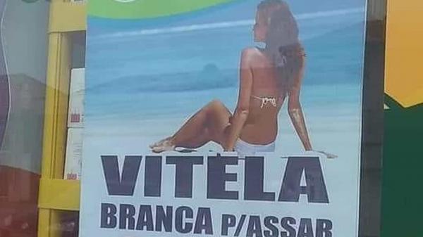 Propaganda com foto de mulher causa polêmica em Portugal