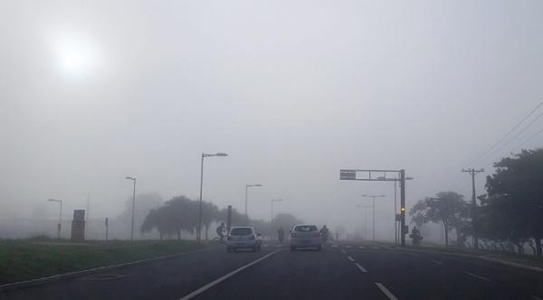 Quarta-feira de tempo parcialmente nublado em MS