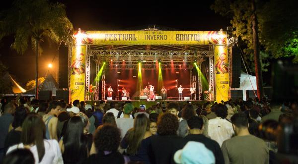 Festival de Inverno de Bonito impulsiona setor de turismo em baixa temporada