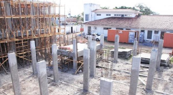 Construção do pronto socorro de Corumbá segue cronograma