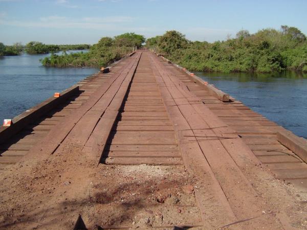 Corumbá: Agesul interdita ponte na MS-228 para reforma