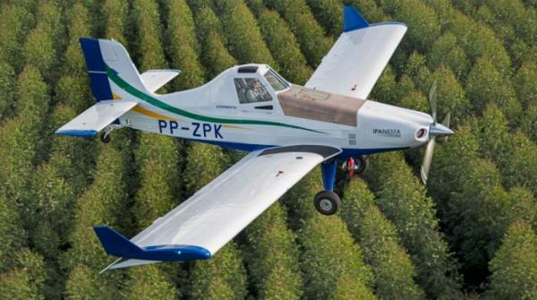 Embraer divulga fotos de protótipo de avião com propulsão elétrica
