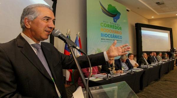 Reinaldo quer pressa no acordo aduaneiro para o Corredor Bioceânico