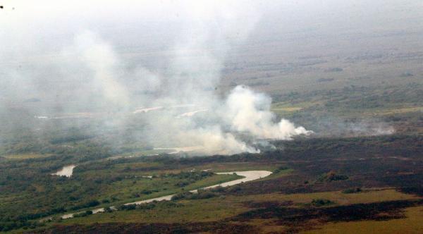 Bombeiros e Defesa Civil estão alerta às queimadas no Estado