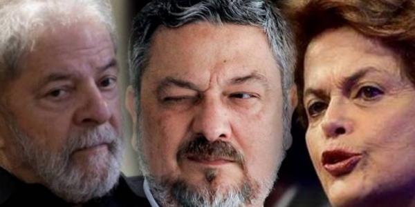 Palocci: dinheiro da 'conta' Lula de R$ 15 milhões pagou passeio de Dilma