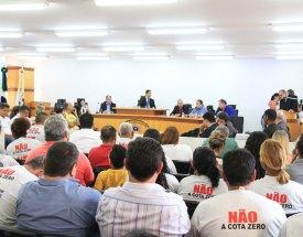 Audiência pública mostra que Decreto Cota Zero divide opiniões