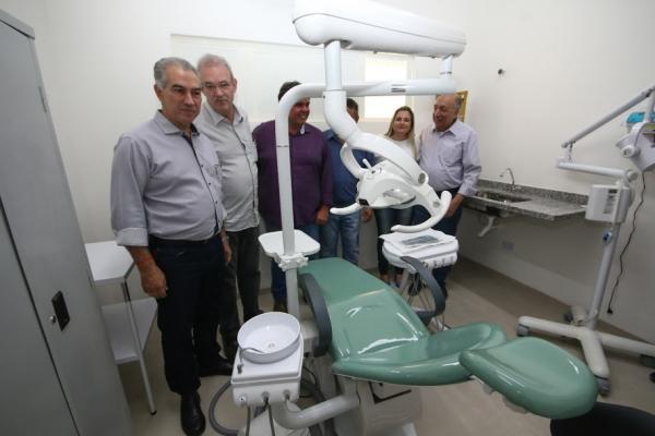 Governo entregou obra em posto de saúde