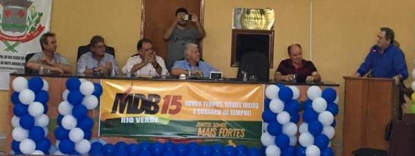 MDB realizou convenção focado em 2020