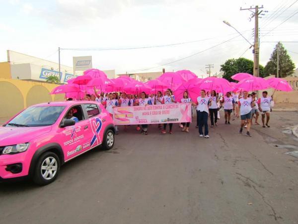 Lançada em Sonora a campanha Outubro Rosa