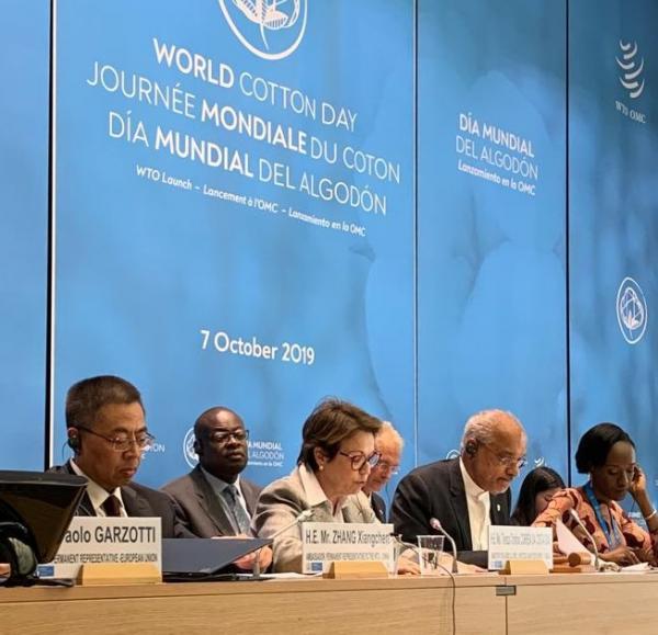 Na OMC, ministra diz que organização é fundamental para comércio internacional justo