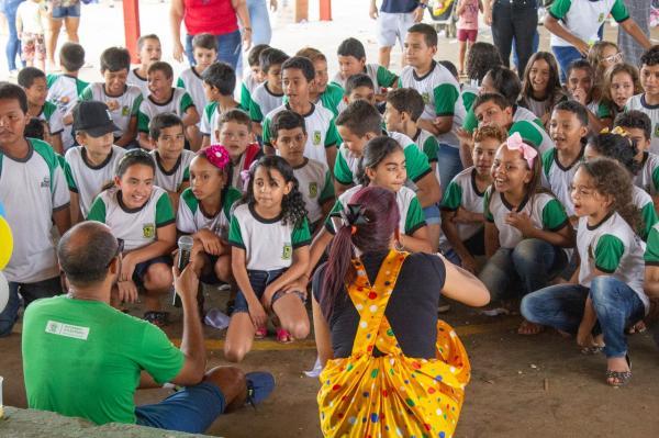 Prefeitura e gerência de educação realizou festa para crianças do município