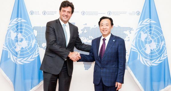 Ministro destaca guia brasileiro em fórum de segurança alimentar na Itália