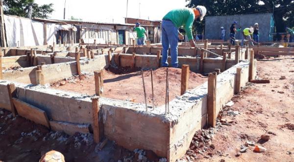 Bases do Lote Urbanizado serão construídas em Paranaíba