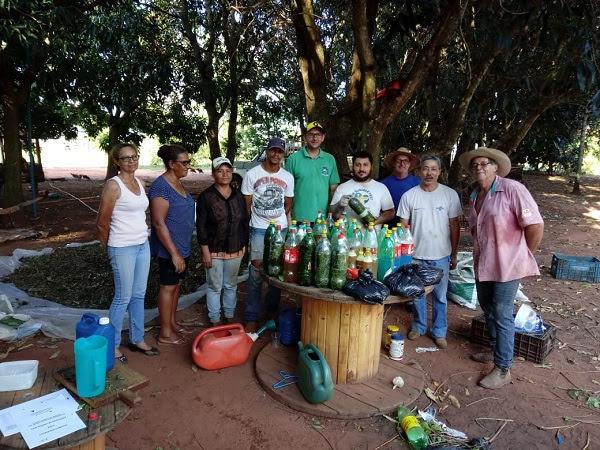 Dia de Campo orientou produtores visando melhorias na produção de alimentos