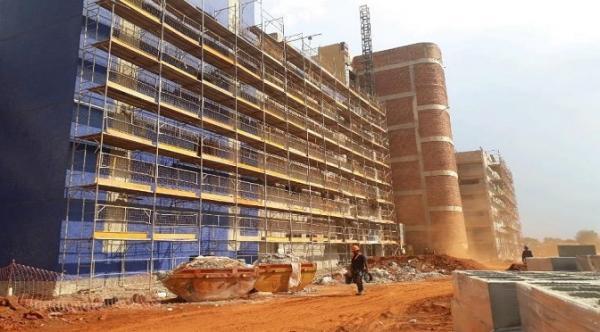 Com 64,35% de obra concluída, Regional de Três Lagoas já está em fase de acabamento