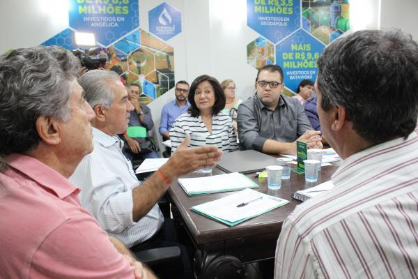 Governador continua atendimento a municípios da Grande Dourados