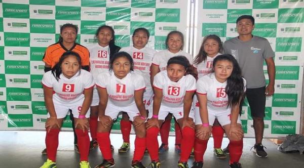 Equipe indígena de Amambai participa dos Jogos Escolares da Juventude