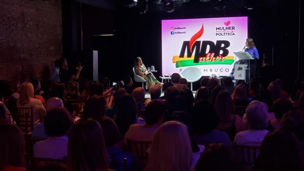 Simone Tebet encoraja participação feminina na política em evento do MDB Mulher