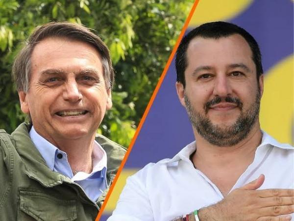 Salvini parabeniza Bolsonaro por nova sigla Aliança pelo Brasil