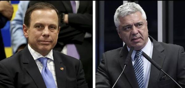 'Doria traiu e enganou Bolsonaro', diz Major Olimpio
