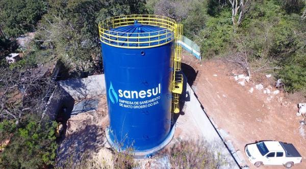 Governo investe R$ 2,6 milhões para a melhoria do sistema de abastecimento de água em Ladário