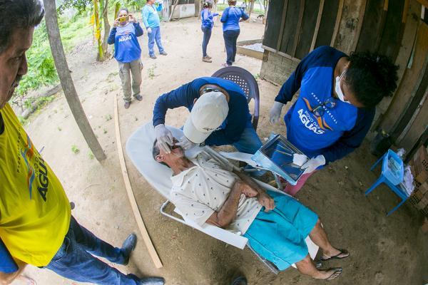 Povo das Águas levou serviços essenciais à comunidades isoladas do Pantanal