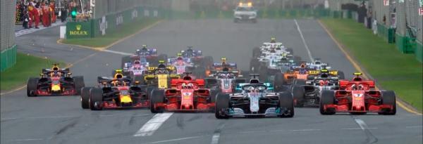 F1 anuncia programação da temporada 2020