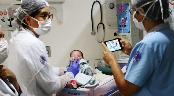 União de equipe do HRMS foi primordial para o sucesso da primeira cirurgia neotal do MS com técnica Exit