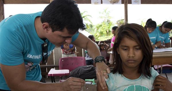 Operação Gota deve vacinar mais de 20 mil pessoas na região Norte