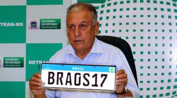 Detran-MS adota Placa Mercosul a partir de fevereiro