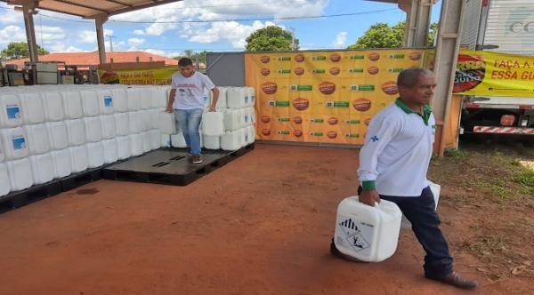 Secretaria de Saúde distribui aos municípios inseticida e larvicida para combate a dengue