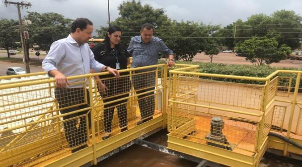 Em Jardim, presidente da Sanesul reafirma compromisso de investir em saneamento