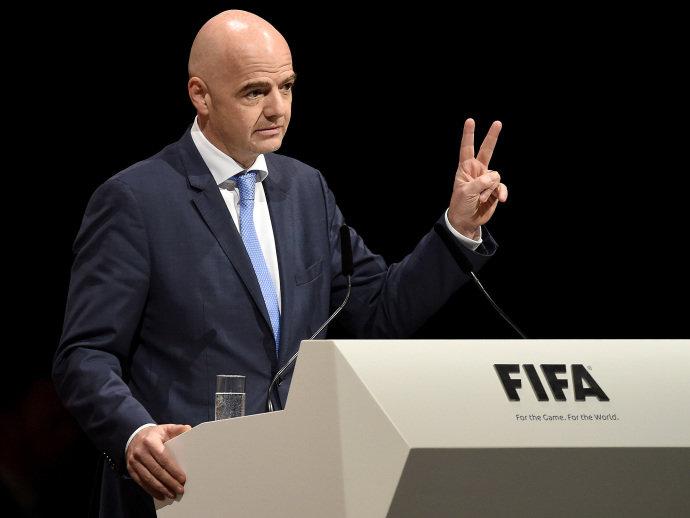 Gianni Infantino é eleito presidente da Fifa