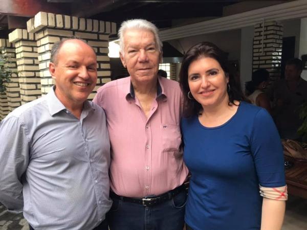 Simone Tebet promete empenho de meio milhão de reais para Rio Verde