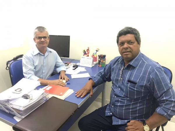 Enelto recebeu secretário de Reinaldo Azambuja para a região Norte