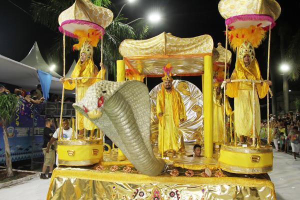 Marquês de Sapucaí cantou as belezas e a riqueza da identidade cultural de Corumbá