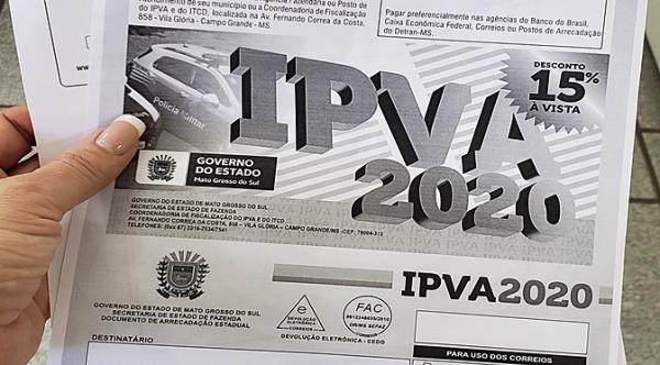 IPVA 2020: quem perdeu prazo em fevereiro ainda tem chance de se regularizar