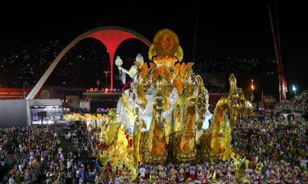 Viradouro é a campeã do carnaval no Rio de Janeiro