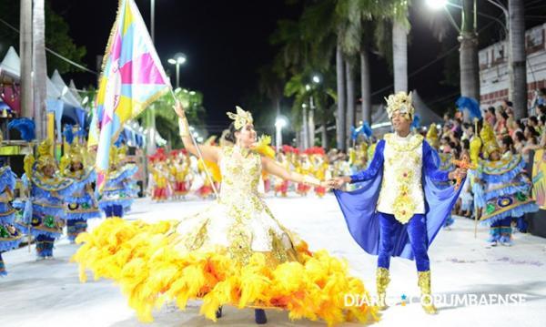 A Pesada é bicampeã do carnaval de Corumbá