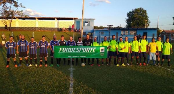 Campeonato Municipal de Futebol Sete tem o apoio da Fundesporte