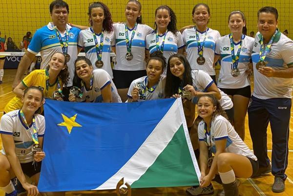 MS jogará a elite do Campeonato Brasileiro de Voleibol sub-18 feminino em 2021