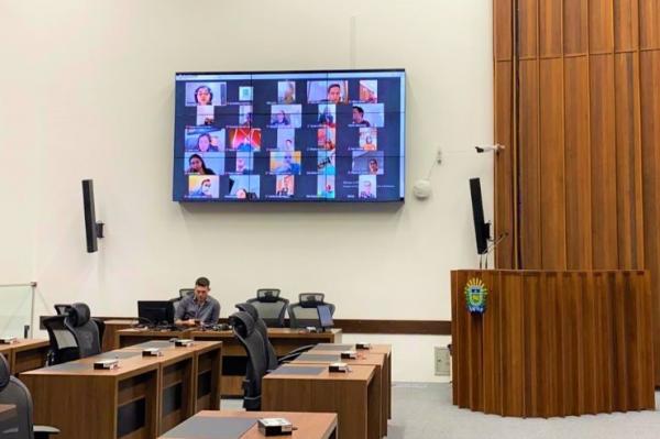 ALEMS testa aplicativo e realizará sessão por vídeoconferência