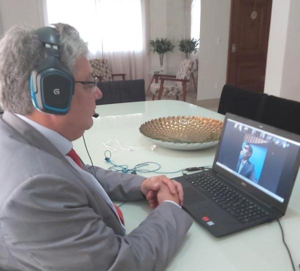 Evander solicita respiradores mecânicos para hospitais de Corumbá