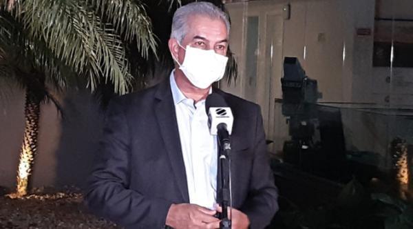 Com perdas estimadas de R$ 1 bilhão, Reinaldo Azambuja destaca importância de apoio federal