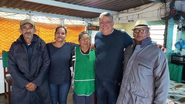Deputado Evander visita Distrito de Porto Esperança