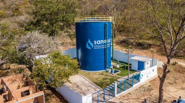 Ladário: investimentos aumentam capacidade de reservação de água