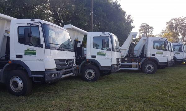 Agricultura familiar de 10 municípios receberá reforço de caminhões