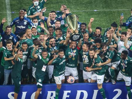 Palmeiras é o campeão paulista de 2020