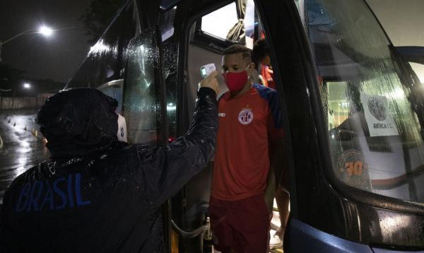 Coronavírus já contaminou o Campeonato Brasileiro