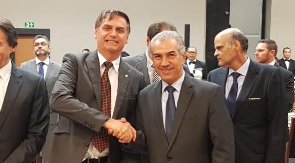 Reinaldo participa com Bolsonaro de inauguração da Estação Radar